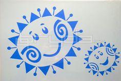Výsledek obrázku pro šablona sluníčko Stencil, Home Decor, Drawings, Homemade Home Decor, Decoration Home, Interior Decorating