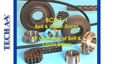 Course Outcome 3 Modules The complete course consists of 3 video modules and 1 PDF manual which include self-assessment Module 1 – An Overview of Belt & Chai. Industrial Engineering, School Of Engineering, Chain Drive, Tech, Technology, Chain