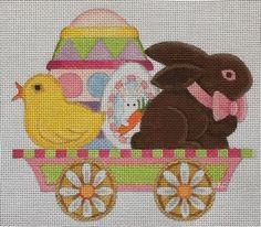 Easter Flat Car