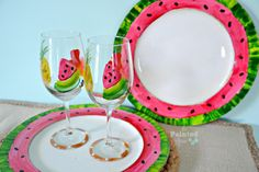 Tablescapes, The Sun is So Bright, I've Gotta Wear Shades | The Painted Apron