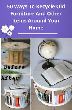 50 Ways To Recycle Old Furniture And Other Items Around Your Home