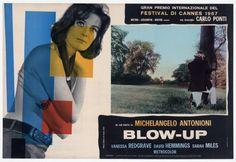 Blow-Up (1966, dir. Michelangelo Antonioni), Italian poster