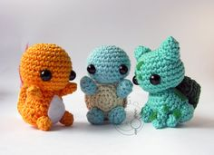 Chibi First Generation Starters by LeFay00.deviantart.com on @deviantART