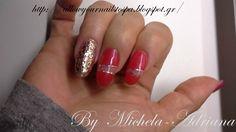 φυσική ενίσχυση ημιμόνιμο γκλίτερ nai art gel polish, glitter nail art