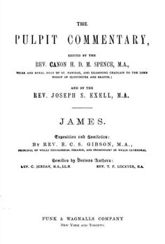 James, The Pulpit Commentary. The Book of James starts on page 460.
