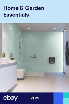 Kitchen Bathroom Shower Bath Acrylic Splash Panel Wet Wall Board Grey Opal Gloss Pvc Cladding, Pvc Bathroom Cladding, Bathroom Paneling, Ceiling Cladding, Geometric Wallpaper Decor, Copper Wallpaper, Striped Wallpaper, Acrylic Wall Panels, Shower Makeover