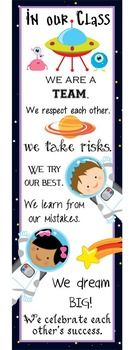 SPACE - Classroom Decor, binder covers, banners, posters,