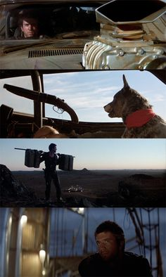 """Mad Max and """"Dog"""". \m/"""