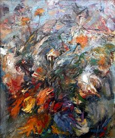 poboh:    Flowers in the wind, Vilnis Eglitis. (1938 - 2004)    Thanks  poboh- once again , you have the best eye of anyone!