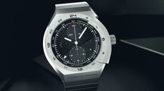 Porsche Design MONOBLOC ACTUATOR All Titanium Start Stop