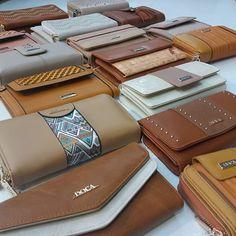 Wallets Brown Wallet, Black Wallet, Stripes Design, Wallets For Women, Mint Green, Continental Wallet, Pu Leather, Studs, Zip Around Wallet