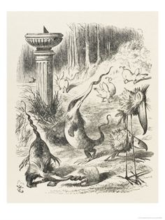 Toves Raths and Borogroves, Invented Creatures of the Jabberwocky Poem