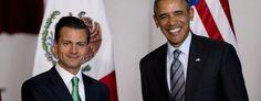 Obama seeks Mexico's aid on Cuba, immigration. (AP)
