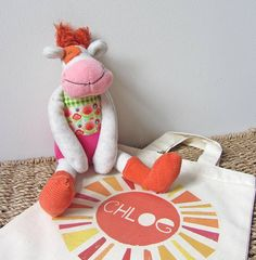 'anemone the cow' soft toy by owl & cat designs | notonthehighstreet.com