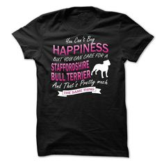 If you love Staffordshire Bull Terrier then this shirt is for you!  Tag & share with your friends/family who may be interested in this.  - More color options!!  - Exclusive T-Shirt/Hoodie - This is a limited edition - Not sold in stores  -  - Made in USA - shipping worldwide  - Guaranteed safe checkout: PAYPAL VISA MASTERCARD