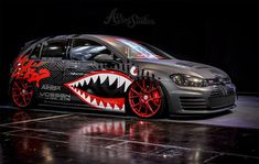 The best tuner cars for 2019 Bored with stock? The best tuner cars are begging to be modified The launch of a new car is a momentous event — an occasion Vehicle Signage, Fiat 600, Volkswagen Polo, Tuner Cars, Vw Cars, Camping Car, Car Painting, Car Wrap, Sport Cars