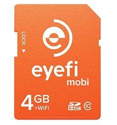 Eyefi Mobi 4GB SDHC Class 10 Wi-Fi Memory Card with 1-year Eyefi Cloud Service (MOBI-4-FF1Y) Eye-Fi http://www.amazon.com/dp/B00O5W2JN0/ref=cm_sw_r_pi_dp_KzaCub0HFR5TN