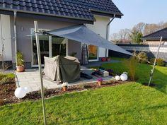 Mein Sonnensegel von vorne. Gesamtansicht Outdoor Decor, Home Decor, Sun Sails, Decoration Home, Room Decor, Home Interior Design, Home Decoration, Interior Design