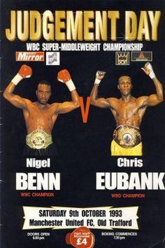 Chris Eubank former 2 Weight wbo champ - Google Search