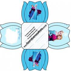 Forminhas Docinhos Frozen Azul
