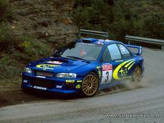 subaru impreza rally edition....