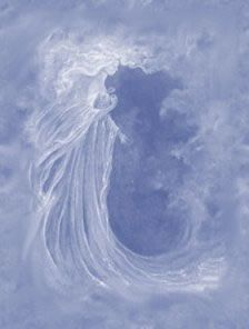 Angel in the sky...