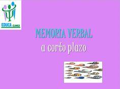 Memoria verbal como elemento importante del lenguaje.