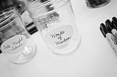 Love this idea for the guests!  #MinneapolisWeddingPhotographer