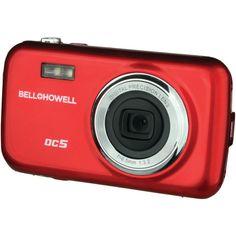 Bell+howell 5.0 Megapixel Fun-flix Kids Digital Camera (red) - MNM Gifts