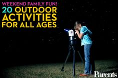 Make the most of your weekends with these fun outdoor activities!