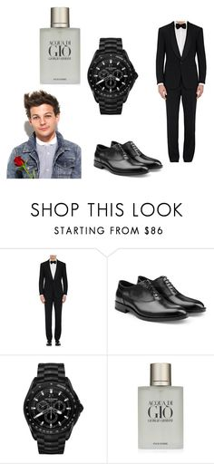 """date!!!"" by meriem-asma on Polyvore featuring Ralph Lauren Purple Label, Jil Sander, Emporio Armani, Giorgio Armani, men's fashion et menswear"
