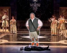 """Did you know that Mario Batali appeared in Sunday's """"La traviata"""" at BAM! Opera News, Mario Batali, Fictional Characters, Fantasy Characters"""