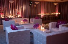 VIP Lounge + Candle lighting ideas for tables Dance Party Birthday, 40th Birthday Parties, Ball Birthday, Birthday Ideas, Dinner Party Decorations, Christmas Party Themes, Disco Party, Disco Ball, Glow Party