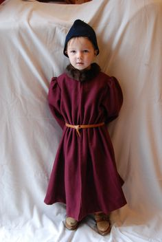 garb_the_child: How a Boy Shall be Dressed at his Ease  Tip from her - use commercial onesie pyjamas for the leg patterns then tie on with cord and eyelets :)