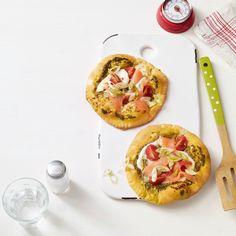 Lachs-Mozzarella-Torteletts