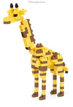 nanoblock - Giraffe (New articulated neck version)