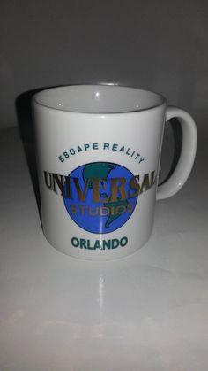 Universal Studios Orlando Resort Collectible Coffee Cup Mug