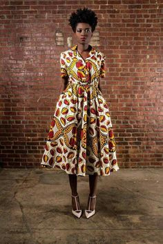 African Vintage inspired