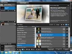 Tutorial Proshow 5 transparency with two video Download the folder with the files - YouTube