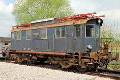 "Locomotiva ""Calimero"" EDz 14 Carminati & Toselli del 1924, già Ferrovia Bribano-Agordo, a Monte San Savino il 21 aprile 2010 - (Foto: Riccardo Genova)"