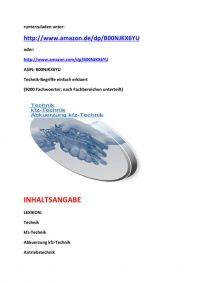 Neuerscheinung zur Frankfurter Buchmesse 2014: technik-wortschatz einfach definiert