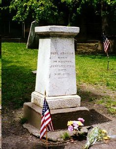 """Paul Revere - Revolutionary War Patriot, Silversmith. He is best remembered for alerting the Colonial militia of the approaching British forces before the battles of Lexington and Concord in Massachusetts on the night of April 18, 1775, as dramatized in Henry Wadsworth Longfellow's famous poem, """"Paul Revere's Ride."""""""