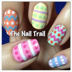 thenailtrail easter #nail #nails #nailart