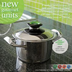 16cm Gourmet High Cookware, The Unit, Cooking, Life, Food, Products, Gourmet, Diy Kitchen Appliances, Kitchen