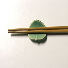 chopstick rests - these are Hand Made Semi porcelain ... by PotterybySumiko on Etsy