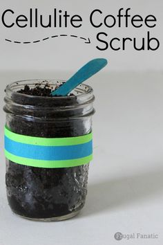 Try this easy DIY cellulite coffee scrub.