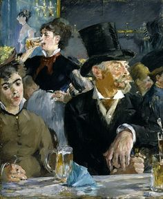 """ Edouard Manet The Cafe-Concert 1879 """