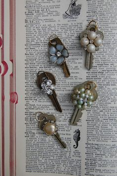 Vintage Key necklaces