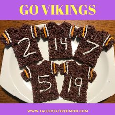 Growing up in New York, there are not many Viking fans. But my husband is one. Now as a family of 4, we all are.      I am not an avid ...