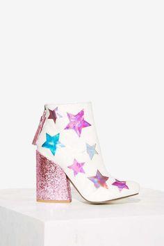 YRU Jem Glitter Boot - Boots + Booties